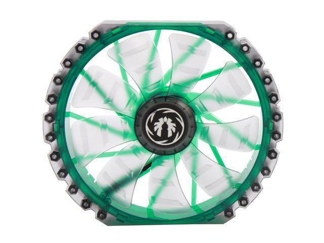 BitFenix Spectre Pro BFF-LPRO-23030G-RP 230mm Green LED Case Fan