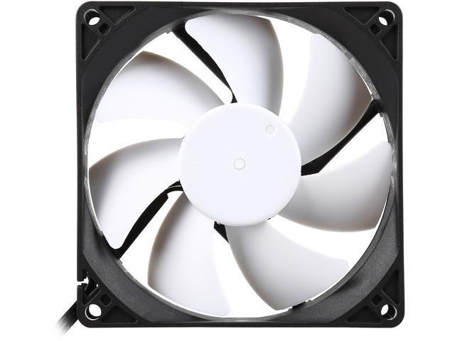 Fractal Design Silent Series R3 Black/White Silence-Optimized 92mm Case Fan