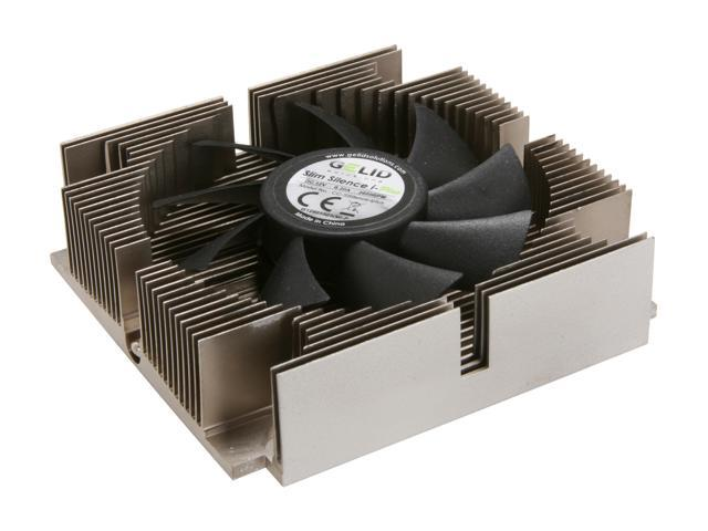GELID Solutions Slim Silence i-Plus (CC-SSilence-iplus) 75mm Ball Bearing CPU Cooler