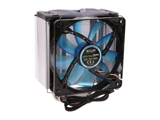GELID Solutions CC-GX7-01-A 120mm Nanoflux Bearing CPU Cooler