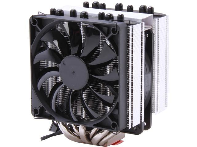 GELID Solutions CC-BEdition-01-A 120mm Hydro Dynamic Bearing CPU Cooler, Black Edition