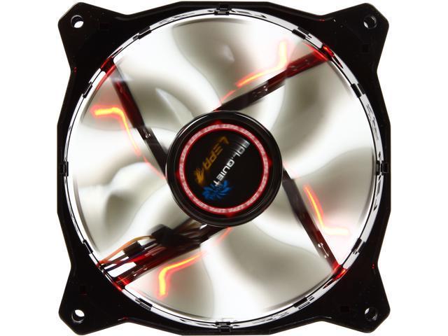 LEPA LP-BOL12P-R 120mm Red LED LEPA BOL.QUIET S Blade PWM Case Fan