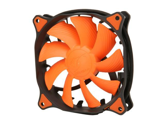 COUGAR CF-V12H Vortex Hydro-Dynamic-Bearing (Fluid) 300,000 Hours 12CM Silent Cooling Fan