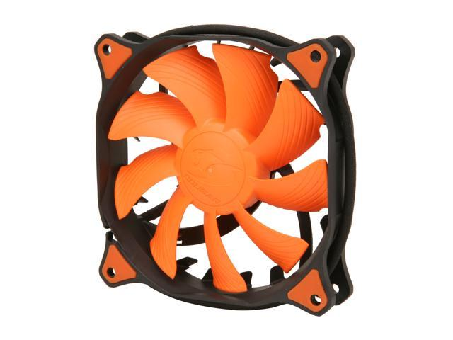 COUGAR CF-V12HP Vortex Hydro-Dynamic-Bearing (Fluid) 300,000 Hours 12CM Silent Cooling Fan with Pulse Width Modulation