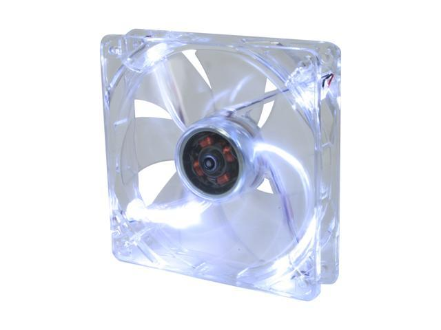 Nexus LED D12SL-12WL 120mm White LED Case cooler