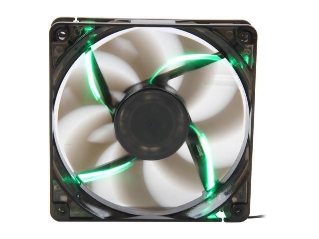 Pixxo PF-S120X-02GN Green LED Case Fan