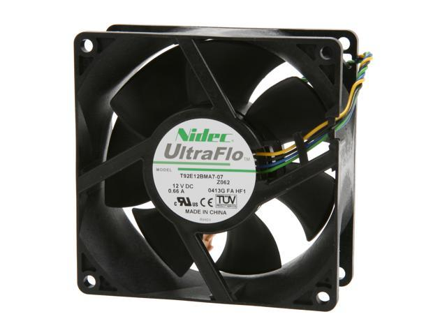 Nidec Ultraflo T92E12BMA7-PWM 92mm Case Fan