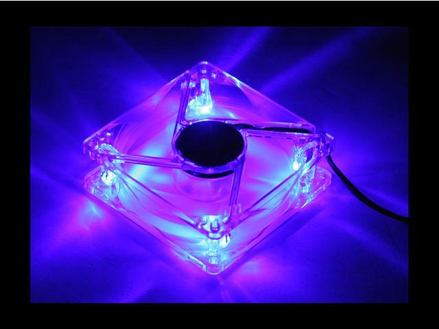 POWMAX FAN8CM-1 80mm Blue LED Case Cooling Fan