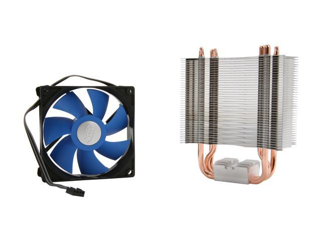 LOGISYS Computer ICE EDGE 300 MC3001IE 92mm Hydro Bearing Universal Intel / AMD CPU Cooler