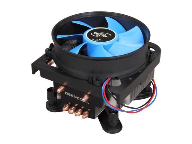 LOGISYS Computer ALPHA 400ST IC4100AST 92mm Hydro Bearing LGA 775 CPU Cooler