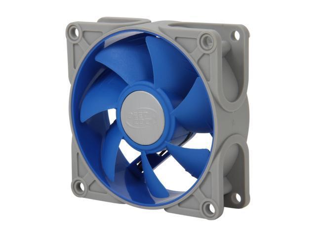 LOGISYS Computer SF80 80mm Ultra Silent Rubberized Frame Fan