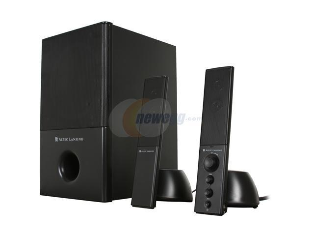 ALTEC LANSING VS4121BLK 31 Watts 2.1 Speakers