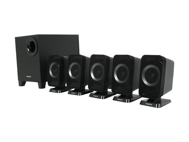 Creative Inspire T6160 50 Watts 5.1 Speakers