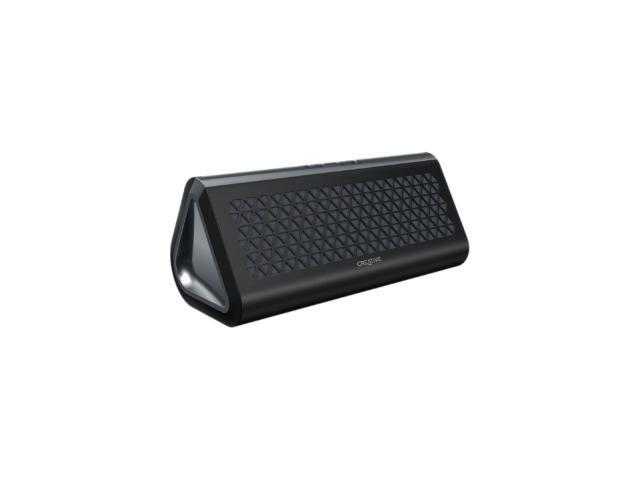 Creative 51MF8160AA004 Gray Airwave Portable Bluetooth Wireless Speaker with NFC
