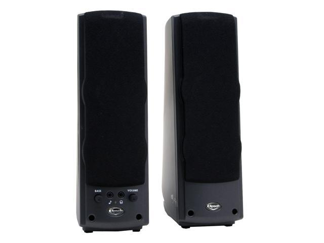 Klipsch 1001157 2.0 ProMedia Ultra Black Speaker