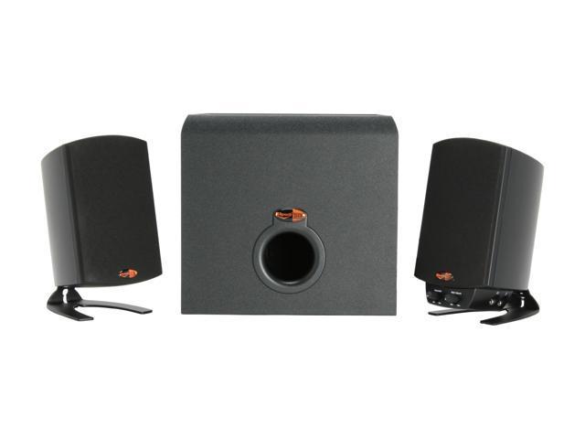 Klipsch ProMedia 2.1 Max Burst Power: 200 watts @ < 1% THD 2.1 Speaker System