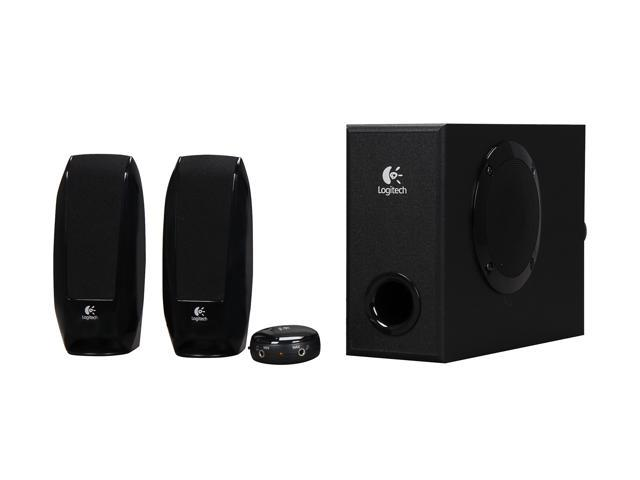 Logitech S-220 17 Watts 2.1 Multimedia Speaker System