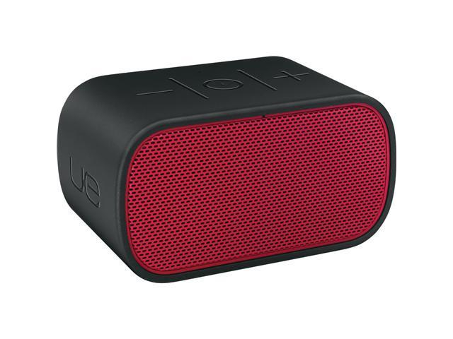 Logitech UE Speaker System - Wireless Speaker(s) - Black, Red