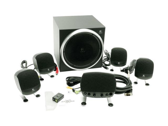 Logitech Z-640 71.2 watts 5.1 Speaker System