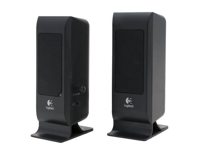 Logitech S-100 BLK 2.0 Speaker System - OEM