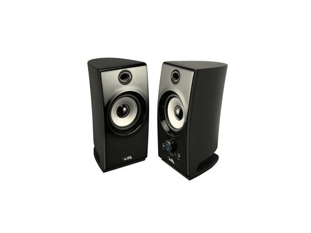 Cyber Acoustics CA-2022 2.0 2 Piece Amplified Desktop Speaker System