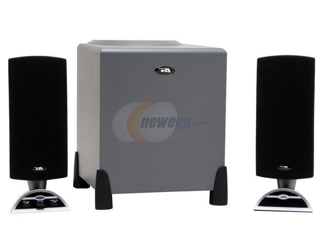 Cyber Acoustics CA3090WB 2.1 Black Gaming Speaker - OEM