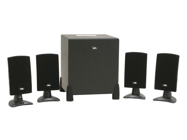 Cyber Acoustics CA4400WB 45 watts 4.1 Black Speaker