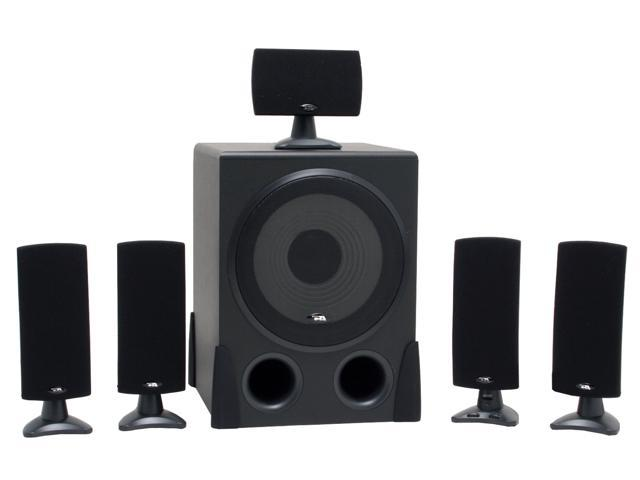 Cyber Acoustics CA5001RB 5.1 Black Speaker
