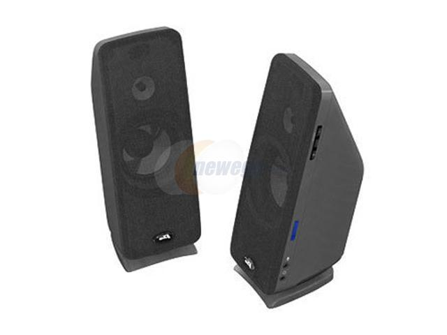 Cyber Acoustics CA-2992 36 Watts 2.0 Black Desktop Speaker System