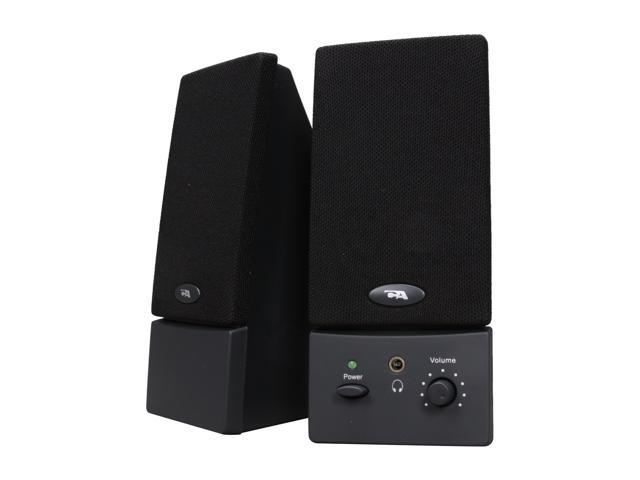 Cyber Acoustics CA-2011WB 2.0 Amplified Computer Speaker System