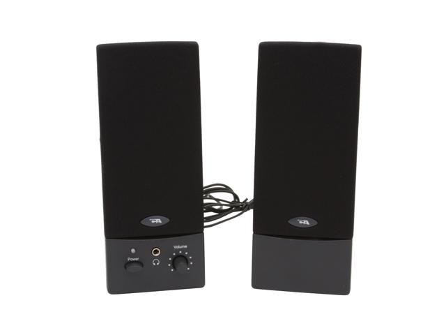 Cyber Acoustics CA-2016wb 3 Watts 2.0 USB Amplified Computer Speaker System - OEM