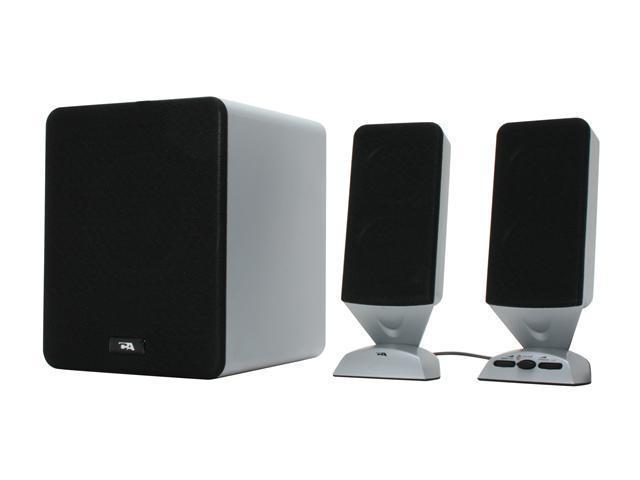 Cyber Acoustics Platinum Series CA-3618 12 Watts RMS 2.1 High Performance Speaker System