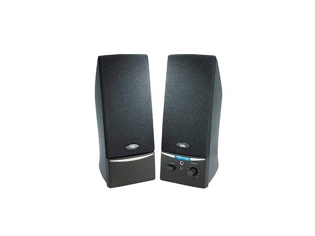 Cyber Acoustics CA-2014RB-ML 2.0 Speaker System - 4 W RMS - Black