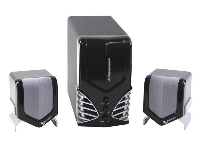 LOGISYS Computer SP6000-BK 32Watts 2.1 SOHO MULTIMEDIA SPEAKER SYSTEM