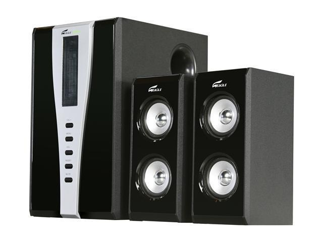 Eagle  ET-AR508LR-BK   140 Watts  2.1  Speakers - Retail