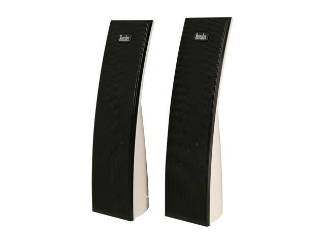 Hercules 4780686 XPS 2.0 10 ARC White 2-Piece Speaker System