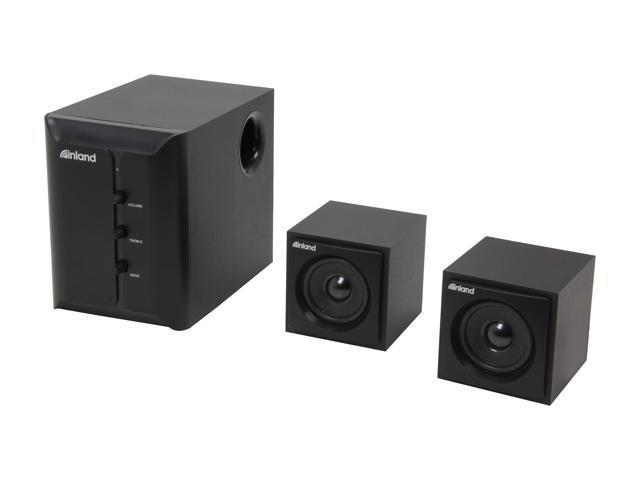 inland 88140 2.1 Pro Sound Speaker System
