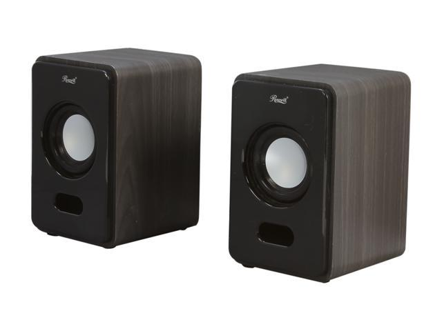 Rosewill RISP-11002 4 Watt 2.0 Wooden Speaker System - Retail