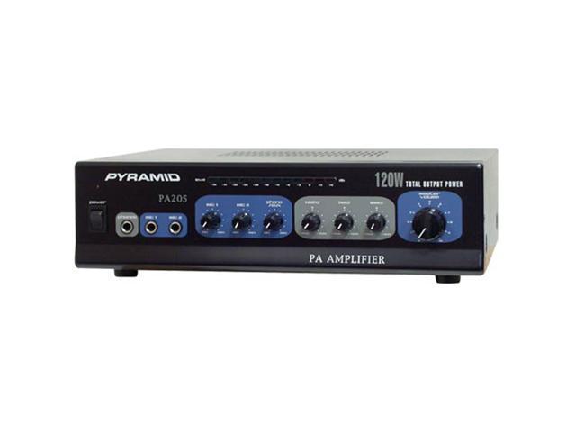 Pyramid PA205 120 Watt Microphone PA Amplifier w/70V Output