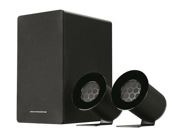 Antec Soundscience rockus 3D|2.1 Speakers