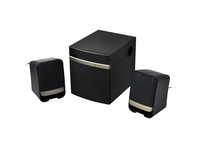 Gear Head SP3250USB 2.1 Speaker System - 14 W RMS - Gold, Black