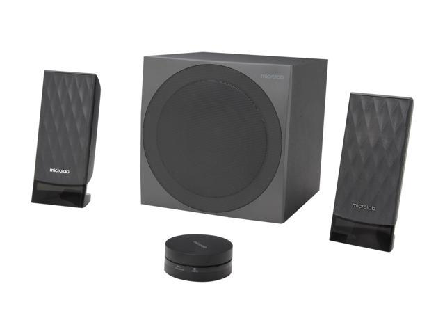 Microlab SP-FC20BK 85W 2.1 Powerful Subwoofer DSP Stereo Speakers