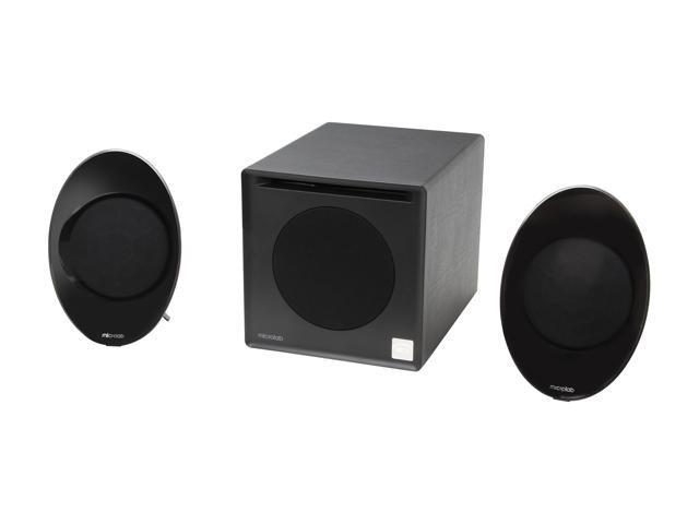Microlab SP-FC50BK 99W 2.1 Enclosure-Free Desktop Hi-Fi Speaker (Black)