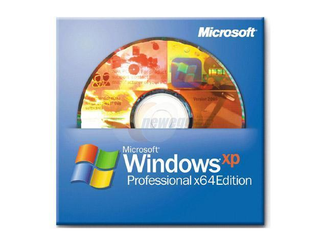 Microsoft Windows XP Professional X64 Edition 1 package
