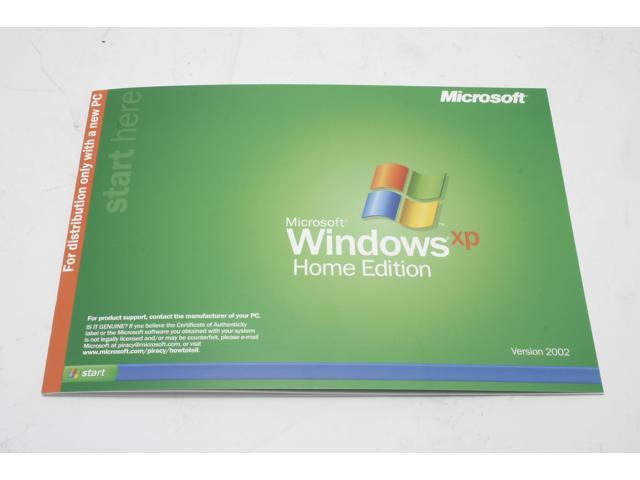 Microsoft Windows XP Home Manual
