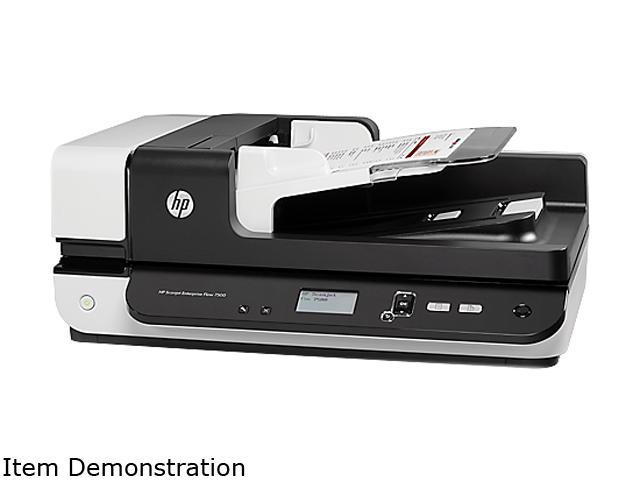 HP Scanjet 7500 (L2725B#BGJ) Duplex Up to 600 dpi USB Color Flatbed Scanner