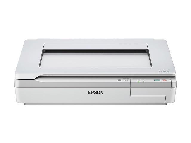 EPSON WorkForce DS-50000 (B11B204121) Input: 16 bit / pixel / color Output: 8 bit / pixel / color CCD 600 x 600 dpi Photo Document Scanner