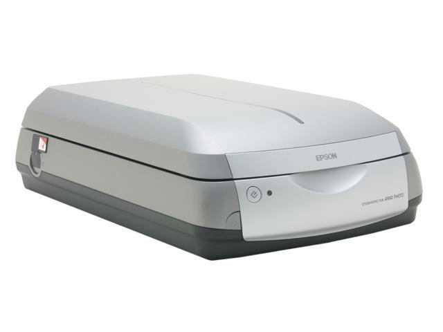 EPSON Perfection 4990 PRO Hi-Speed USB 2.0, IEEE 1394 (FireWire) Interface Flatbed Scanner