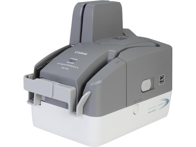 Canon imageFORMULA CR-50 Check Transport (5367B002) 24bit CMOS CIS Sensor Check 600 dpi Scanner