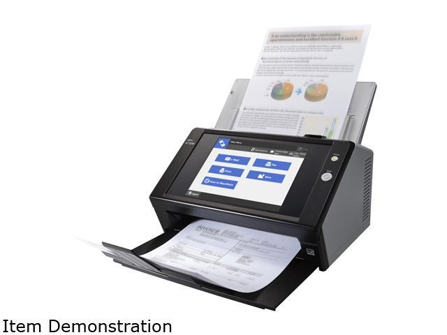Fujitsu N7100 (PA03706-B205) 600 dpi Color Duplex Network Document Scanner